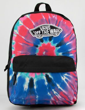 Tilly's VANS Realm Tie Dye Backpack-Vans, Awesome Backpack, Tie Dye