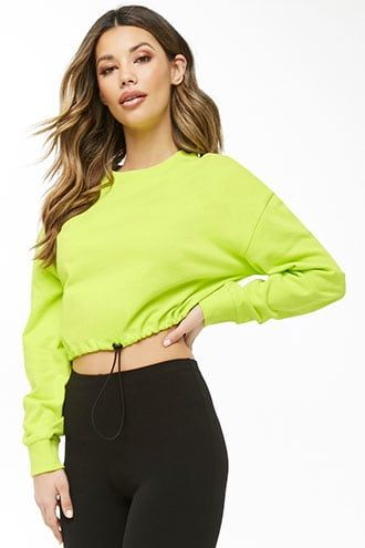 Forever21 French Terry Sweatshirt-